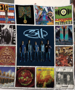 311 Band Album Quilt Blanket