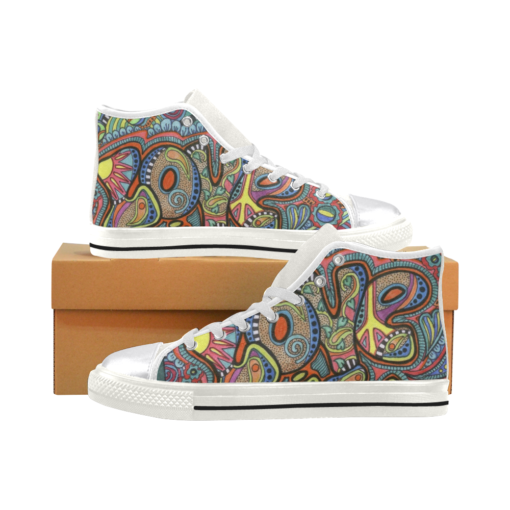 Peace Hippie Aquila High Top Canvas Women's Shoes