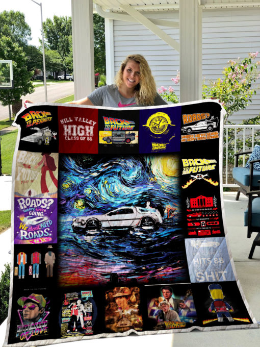 Back to the Future Quilt Blanket 0378