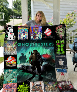 Ghostbusters Quilt Blanket 0398
