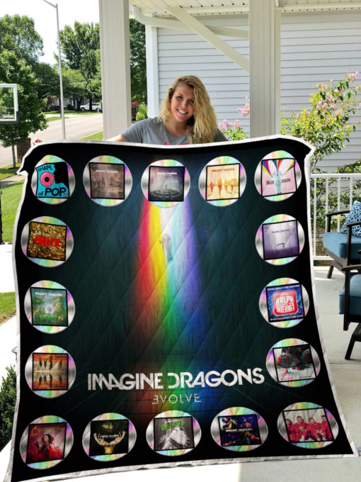 Imagine Dragons Quilt Blanket 0276