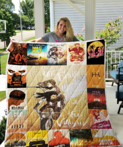 Mad max Quilt Blanket 0375