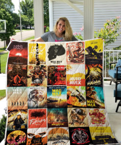 Mad max Quilt Blanket 0376