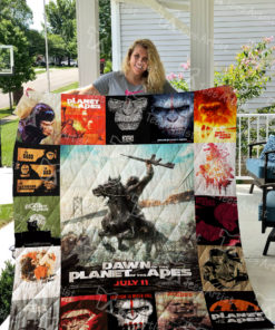 Planet of the Apes Quilt Blanket 0418
