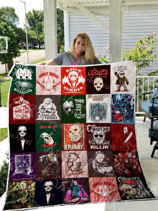 Friday the 13th Quilt Blanket 0499