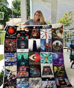 A Space Odyssey Quilt Blanket 0426