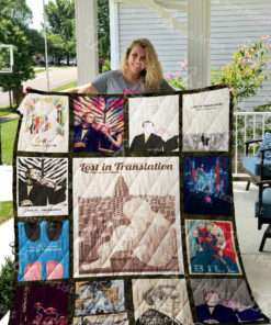 Lost in Translation Quilt Blanket 0581