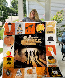 A Clockwork Orange Quilt Blanket 0442