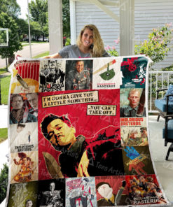 Inglourious Basterds Quilt Blanket 0486
