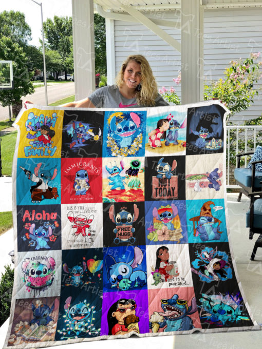 Lilo and Stitch Quilt Blanket 0599
