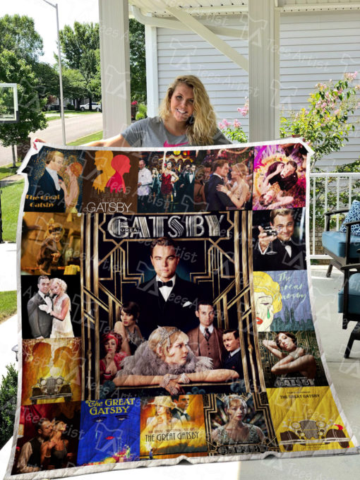 The Great Gatsby Quilt Blanket 0544