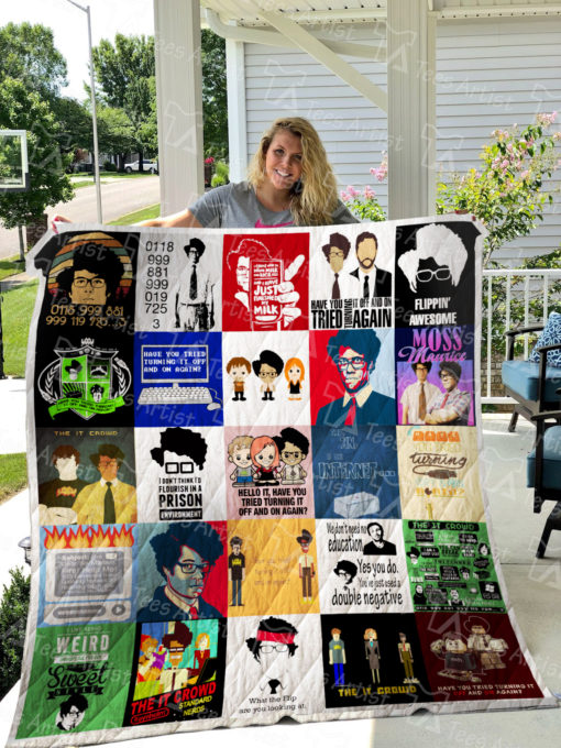 The IT Crowd Quilt Blanket 0508