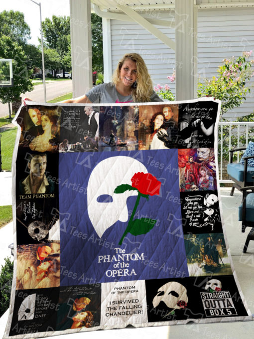 Phantom Of The Opera Quilt Blanket 0526