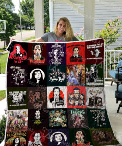 Addams Family Quilt Blanket L0420