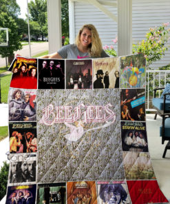 Bee Gees Quilt Blanket 0737