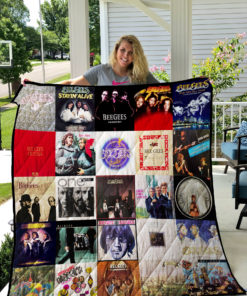 Bee Gees Quilt Blanket 0738