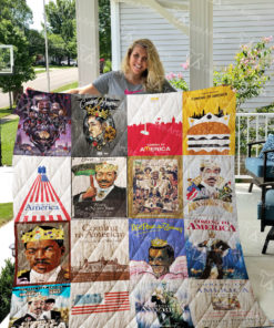 Coming to America Quilt Blanket 0680