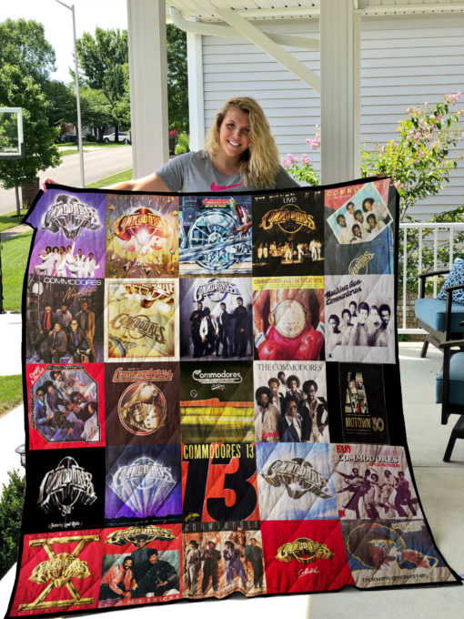 Commodores Quilt Blanket 0681