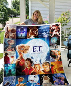 E.T. the Extra-Terrestrial Quilt Blanket 0646