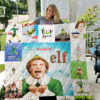 Drop Dead Fred Quilt Blanket