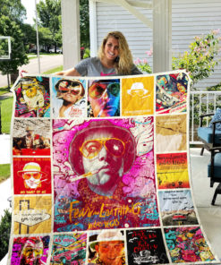 Fear and Loathing in Las Vegas Quilt Blanket 0729