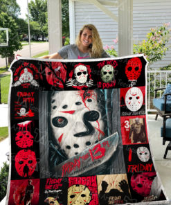 Friday the 13th Quilt Blanket 0636