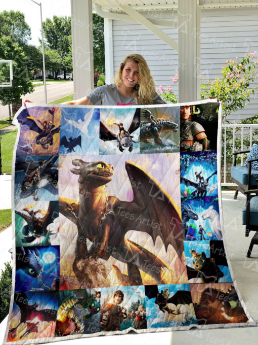 How To Train Your Dragon Quilt Blanket 0566