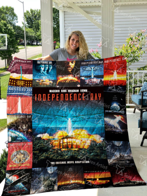 Independence Day Quilt Blanket 0677