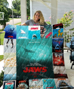 Jaws Quilt Blanket 0610