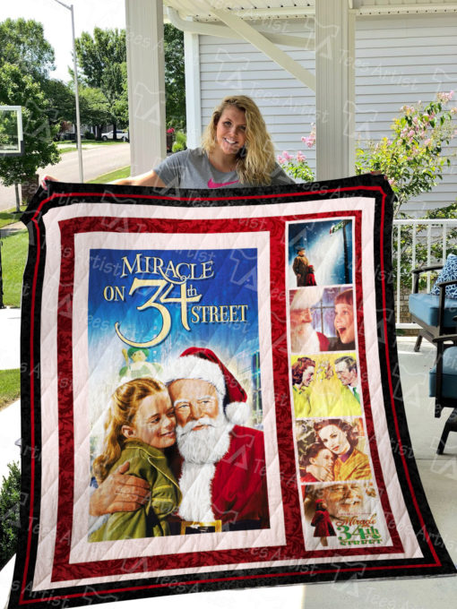 Miracle on 34th Street Quilt Blanket