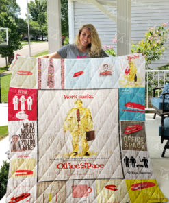 Office Space Quilt Blanket 0694