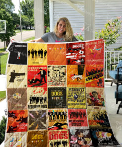 Reservoir Dogs Quilt Blanket