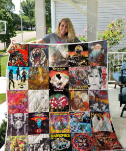 Rock Band Quilt Blanket 0757