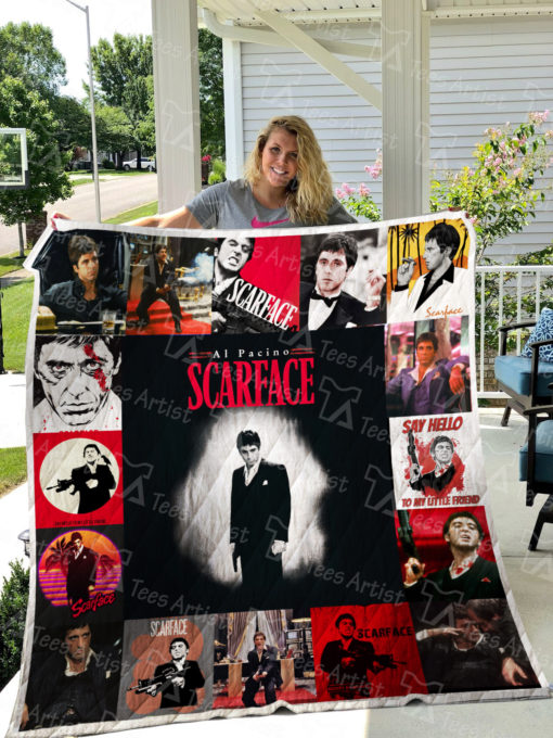 Scarface Quilt Blanket 0635