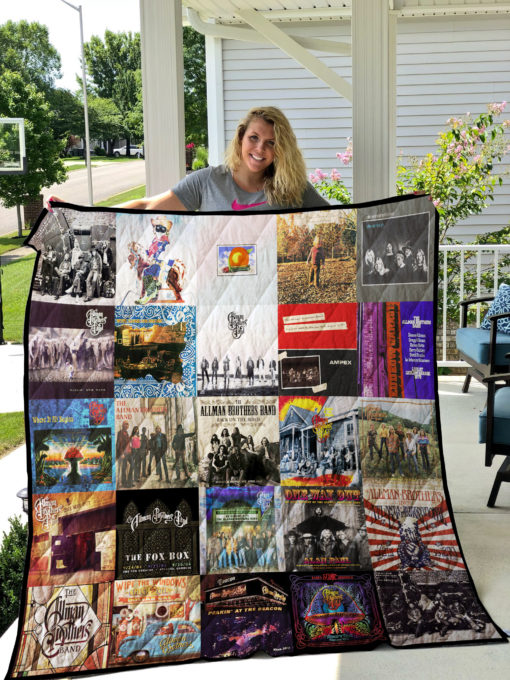 The Allman Brothers Quilt Blanket