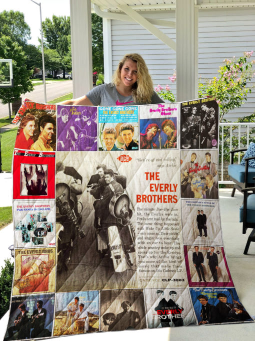 The Everly Brothers Quilt Blanket 0733