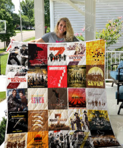The Magnificent Seven Quilt Blanket