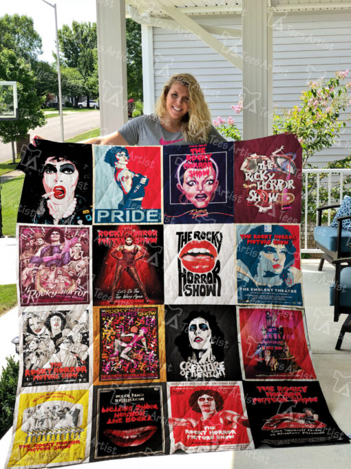 The Rocky Horror Picture Show Quilt Blanket 0617