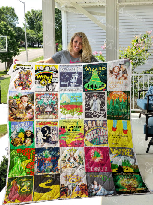 The Wizard Of Oz Quilt Blanket 0667