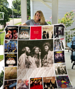 Bee Gees Quilt Blanket 01000