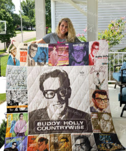Buddy Holly Quilt Blanket 0868
