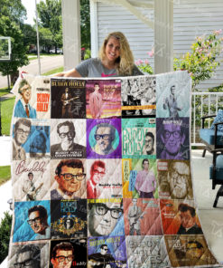 Buddy Holly Quilt Blanket 0869