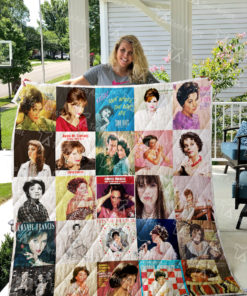 Connie Francis Quilt Blanket 0992