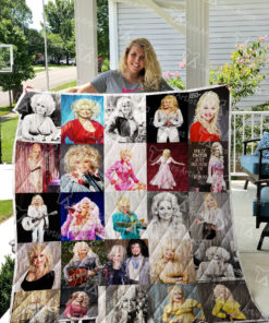 Dolly Parton Quilt Blanket 01031
