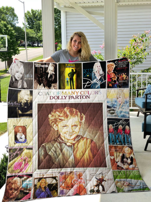 Dolly Parton Quilt Blanket 0889