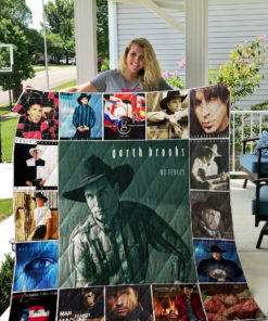 Garth Brooks Quilt Blanket 0789
