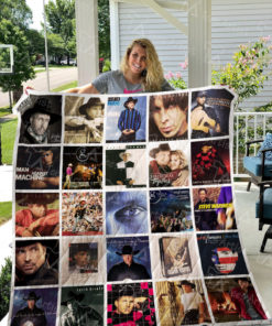 Garth Brooks Quilt Blanket 0921