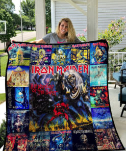 Iron Maiden Quilt Blanket 01154