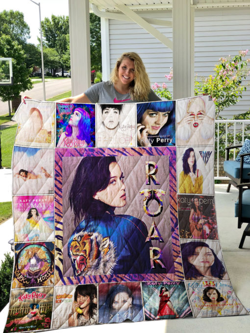 Katy Perry Quilt Blanket 01170
