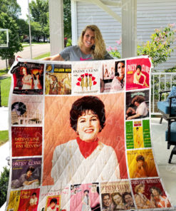 Patsy Cline Quilt Blanket 0865